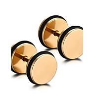 Męskie Damskie Modny minimalistyczny styl Osobiste Stal nierdzewna Circle Shape Round Shape Geometric Shape Ciężarek Biżuteria Na