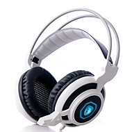 SADES Magic Feather Arcmage 3.5mm Over-Ear Stereo Gaming Headset PC with Microphone & Volume Control for Gamers
