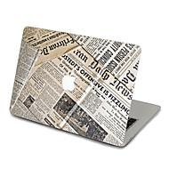 1 stk Ridsnings-Sikker Transparent plastik Klistermærke Tegneseriebilleder / Ultratynd / Mat ForMacBook Pro 15 '' med Retina / MacBook