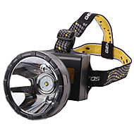 Lights Headlamps LED 2000lumens Lumens 2 Mode 18650 Waterproof / RechargeableCamping/Hiking/Caving / Cycling/Bike / Hunting / Fishing /
