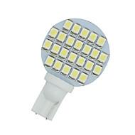 10 x branco paisagismo rv carro t10 cunha 24 SMD LED luz W5W 921 194 2.825 168