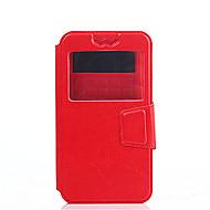 Voor Sony hoesje / Xperia XA / Xperia Z5 Schokbestendig / Stofbestendig / met standaard / met venster / Flip hoesje Volledige behuizing