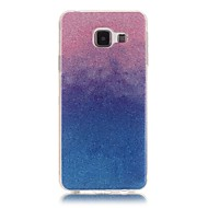 For Samsung Galaxy etui Andet Etui Bagcover Etui Farvegradient Blødt TPU for Samsung A5(2016) A3(2016)