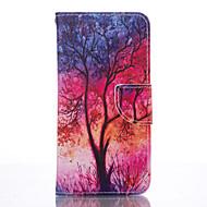 Για Samsung Galaxy S7 Edge Θήκη καρτών / Πορτοφόλι / με βάση στήριξης tok Πλήρης κάλυψη tok Δέντρο Μαλακή Συνθετικό δέρμα SamsungS7 edge