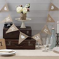 Jute Øko-venligt Materiale Bryllup Dekorationer-1 stk / sæt Forår Sommer Efterår Vinter Ikke-personliggjortDen er en god hjælp til dit