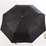 블랙 / 블루 접는 우산 써니와 비오는 고무 레이디 / 남성