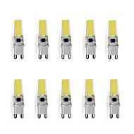 9W G9 LED-lamper med G-sokkel T 1 Højeffekts-LED 450 lm Varm hvid Kold hvid Dekorativ Vekselstrøm 220-240 V 10 stk.