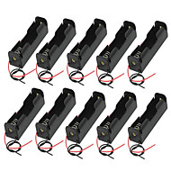 10PCS  18650 Battery Box Battery Box Section Single 1/18650 Battery Box With Charging Dock Line