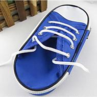 nuevos caja de lápiz de los zapatos de lona simples papelería bolsas de gran capacidad