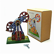Novelty Toy Stress Relievers  Puzzle Toy  Wind-up Toy Novelty Toy Phonograph Machine Metal Blue For Kids