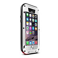 아이폰 6S에 대한 원래 사랑 메이 고릴라 유리 금속 방수 케이스 커버