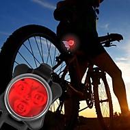 Światła rowerowe Przednia lampka rowerowa Tylna lampka rowerowa LED - Kolarstwo Łatwe przenoszenie Ostrzeżenie C-Cell 40 Lumenów USBDo