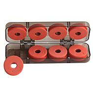 Anmuka Portable Fishing Line Bobbin Spools Plastic Storage Box Fishing Tackle Case for Fishing Fishing Tackle Boxes