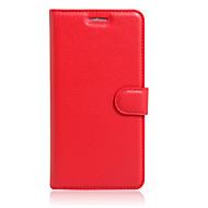 Mert Kártyatartó / Állvánnyal / Flip Case Teljes védelem Case Egyszínű Kemény Műbőr BQBQ Aquaris X5 Plus / BQ Aquaris X5 / BQ Aquaris