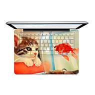 1 stk Ridsnings-Sikker Transparent plastik Klistermærke Tegneseriebilleder ForMacBook Pro 15 '' med Retina / MacBook Pro 15 '' / MacBook