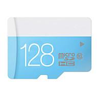 calidad 8gb / 16gb / 32gb / 64gb / 128gb azul de la clase 10 capacidad real tarjeta de memoria micro SD TF con adaptador SD