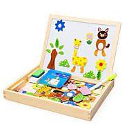 동물 장면은 장난감 나무 어린이 만화 스테레오 퍼즐 보드를 주문