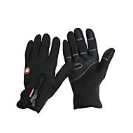 כפפות כפפות ספורט/ פעילות לנשים / לגברים / כל כפפות רכיבה סתיו / חורף כפפות אופנייםשמור על חום הגוף / נגד החלקה / נושם / עמיד בפני רוחות