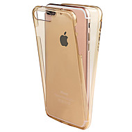 Varten Other Etui Kokonaan peittävä Etui Yksivärinen Pehmeä TPU Apple iPhone 7 Plus / iPhone 7 / iPhone 6s Plus/6 Plus / iPhone 6s/6