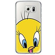 Cartoon Bird Pattern Soft Ultra-thin TPU Back Cover For Samsung GalaxyS7 edge S7 S6 edge S6 edge plus S6 S5 S4