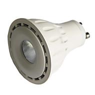 8 GU10 LED 스팟 조명 MR16 1 COB 550 lm 따뜻한 화이트 / 차가운 화이트 밝기 조절 AC 220-240 / AC 110-130 V 1개