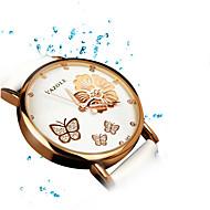 Dames Dress horloge Modieus horloge Polshorloge Kwarts / Leer Band Sneeuwvlok  Vrijetijdsschoenen Zwart Wit Rood BruinWit Zwart Bruin