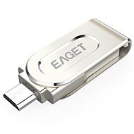 EAGET V88-32G 32GB USB 3.0 Rotierend / Kompatibel mit OTG (Micro USB) / Wasserresistent / Entschlüsselt / Schockresistent / Kompakte Größe
