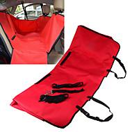 Gato / Dog Cobertor de Asiento Para Coche Mascotas Cubiertas Impermeable / Plegable Tejido / Oxford Rojo / Negro / Azul / Marrón / Gris