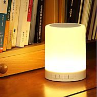 jiawenインテリジェントワイヤレスBluetooth 4.0音楽スピーカーは、デスクランプ直流5V音楽プレーヤー調光可能な常夜灯を主導しました