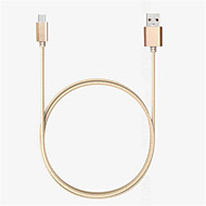 USB 2.0 Entrançado Náilon Cabo 100cm