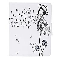 Dandelion Painted PU Leather Material Flat Bracket for  iPad mini321 iPad mini4
