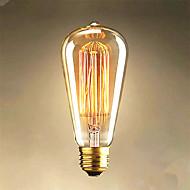 40w edison st64 suoraan lanka lamput myytävänä edison taiteen koristeluun valo