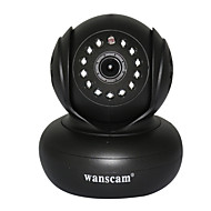 wanscam® câmera de segurança ip wireless com o título pan e p2p livre 32g de apoio cartão de tif