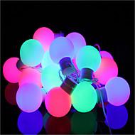 40-ledede 5m vanntett plugg utendørs christmas decoration lys ledet streng lys