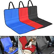 Katze / Hund Auto Sitzbezug Haustiere Wasserdicht / Klappbar rot / schwarz / blau / Beige Gewebe