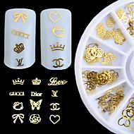 1pcs Nail Jewelry Decorative Turntable Nail Tool(Style Random)