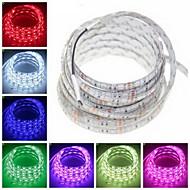 Waterproof 5M 72W 300x5050SMD RGB / Warm White / Green / Blue / Pink / Yellow / Red / White LED Strip Lamp (DC12V)