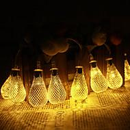 jiawen 5m 20 led fém csepp Tring fény terasz esküvői chritma fény ünnep dekoráció hálószoba (ac 110-220v)
