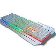 Johdolla Näppäimistö ergonominen näppäimistö / Multimedia näppäimistö / mekaaninen näppäimistö / pelaamista näppäimistöMulti värin