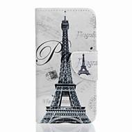 Για Πορτοφόλι / Θήκη καρτών / με βάση στήριξης tok Πλήρης κάλυψη tok Πύργος του Άιφελ Σκληρή Συνθετικό δέρμα SamsungJ5 (2016) / J5 / J3 /