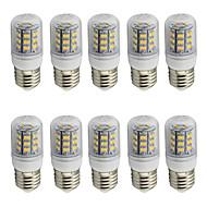 4 E26/E27 Żarówki LED kukurydza T 48 SMD 2835 280 lm Ciepła biel / Zimna biel Dekoracyjna AC 85-265 / 9-30 V 10 sztuk