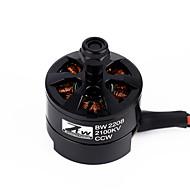 RC 2208 2100KV 18A一 CCW Motori/Motori RC quadcopter / Drones / Elicotteri RC / RC Aeroplani Nero 1 pezzo