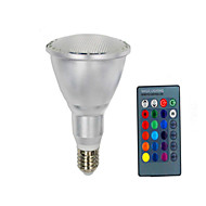 PAR30 RGB Colorful Remote Control Bulb(E27 10W)