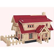 παζλ Ξύλινα παζλ Δομικά στοιχεία DIY παιχνίδια Σπίτι 1 Ξύλο Κρύσταλλο