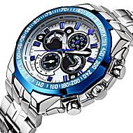 WWOOR Αντρικά Αθλητικό Ρολόι Ρολόι Φορέματος Μοδάτο Ρολόι Ρολόι Καρπού μηχανικό ρολόι Αυτόματο κούρδισμαΑνθεκτικό στο Νερό Νυχτερινή