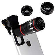 Details about4in1 fish eye groothoek micro 10x telelens camera fr iphone 6 6s plus 5s