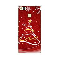 op patroon Cover Case kerst zachte TPU Huawei Huawei p9 / Huawei p9 lite / Huawei p8 / Huawei p8 lite