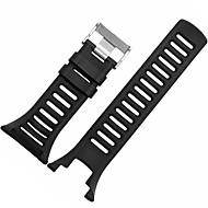블랙 / 그레이 / 오렌지 고무 durable 스포츠 밴드 용 Suunto 손목 시계 24mm