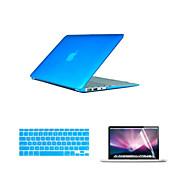 2016 κορυφή πώληση pvc περίπτωση macbook με κάλυμμα πληκτρολόγιο και flim οθόνης για MacBook Pro 13.3 ιντσών