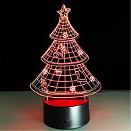 Boże Narodzenie prezent 3d nightlight kreatywne kolorowe lampy LED